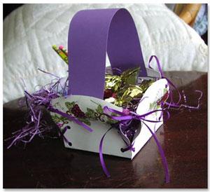 Paper plate easter basket mightylinksfo